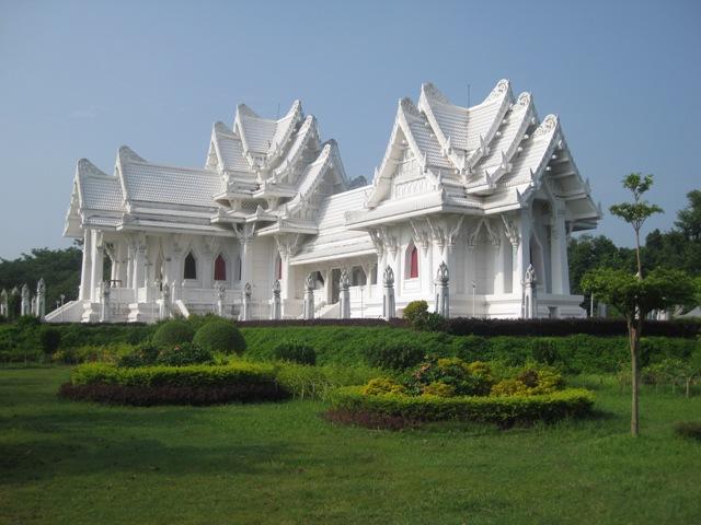 Một ngôi chùa Thái Lan quanh Lumbini (Ảnh Internet)
