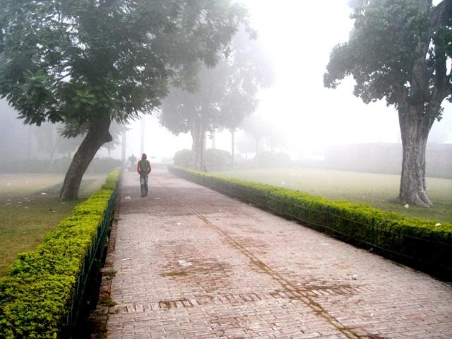 Bên trong khu di tích Kushinagar